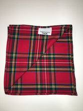 Load image into Gallery viewer, Colourful Plaid Pocket Square