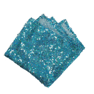 Delicate Sequin Pocket Squares
