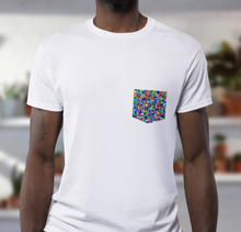 Load image into Gallery viewer, Custom Pocket T-Shirt