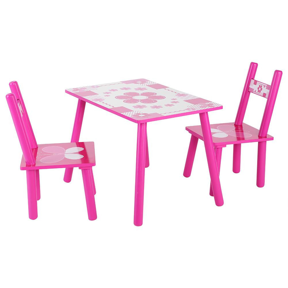Astounding Childrens Wooden Table And Chair Set Kids Childs Studying Table And Chair Set Home School Interior Design Ideas Gentotryabchikinfo