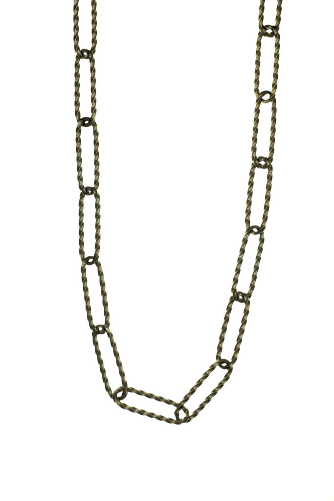 BRONZE TWIST CHAIN