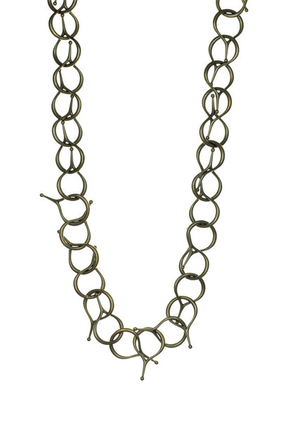 BRONZE POINTY CHAIN