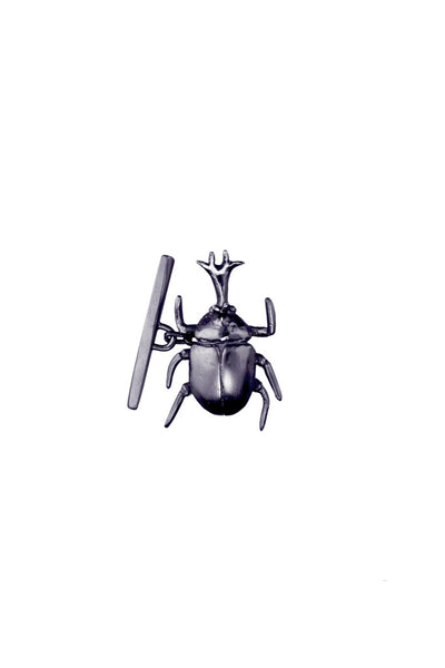 RHINO BEETLE CUFFLINKS *one pair