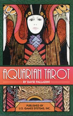 Aquarian tarot deck by Palladini, David