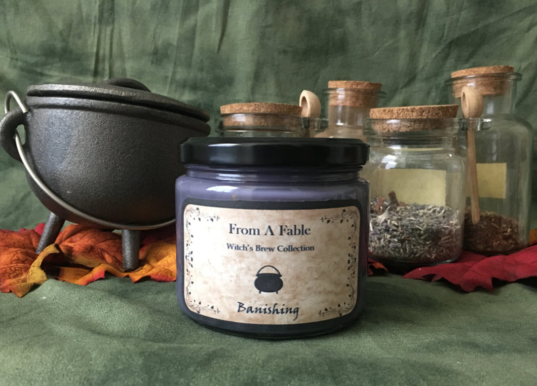 Banishing - Witch's Brew Soy Candle Collection