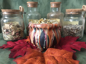 Mabon/Autumnal Equinox - Wheel of the Year Cauldron Candle Collection