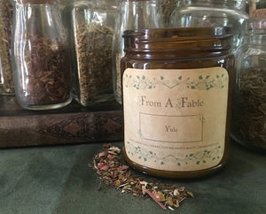 Yule - Wheel of the Year Jar Candle Collection