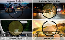 Load image into Gallery viewer, NIGHT VISION DRIVING GLASSES