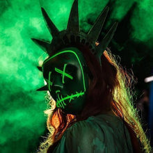 Load image into Gallery viewer, Halloween LED Purge Light Up Mask