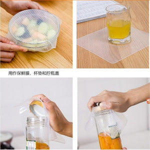 Silicone Seal Multi functional Food Wrap