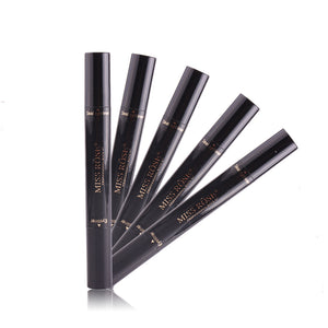Waterproof Black Double-ended Eyeliner Pencil