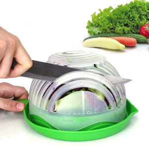 60 Seconds Easy Salad Maker