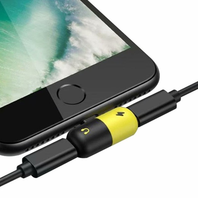 Dual Ports Splitter For iPhone