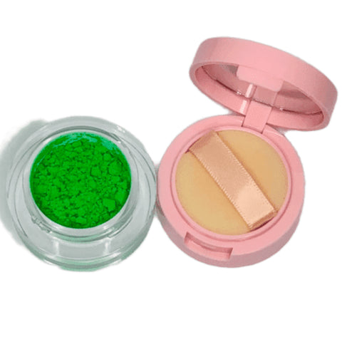 Green Neon Eyeshadow Pigments