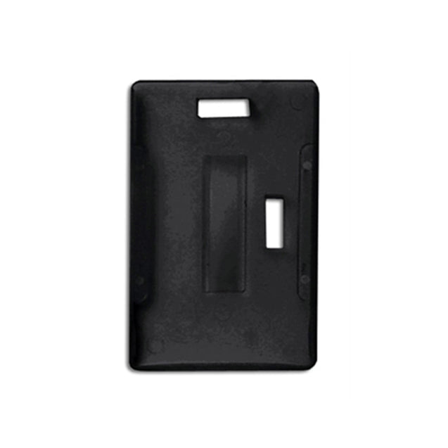"Rigid Badge Holder, Colored Multi-Card Holder 2.17"" x 3.38"" (55 x 86 mm), Horizontal Or Vertical Load Multi-Card Holder Holds Up To 5 Cards, Vertical / Horizontal Load, Outside Dimension: 2 1/4W x 3 1/2""H (57 x 89mm) - 50/pack"