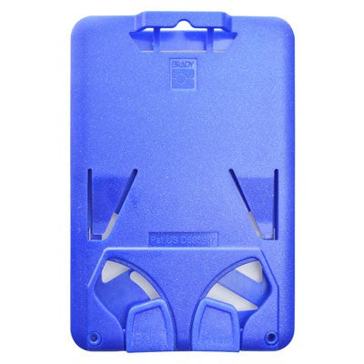 "Rigid Badge Holder, B.Holder Three Card Holder Data / Credit Card Size, Inside : 2.13"" x 3.38"", Top Load, Slot / Chain Holes - 50/pack"