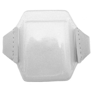 "Speciality Badge Holder, Armband Holder Series 3.62"" x 2.62"" (92 x 67mm), Heavy Duty Arm Badge Holder, Extra secure back-load design - Color Clear - 1000/pack"