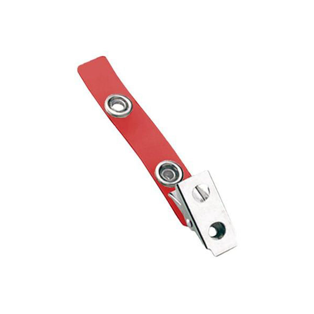 "Strap Clip, 2 Hole Clip 2 3/4"" (70mm), NPS Smooth Face Clip, Colored Vinyl Strap, Strap Size 2 3/4"" (70mm) - 100/pack"