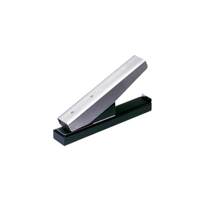 Stapler-Style Slot Punch with Slot Receptacle