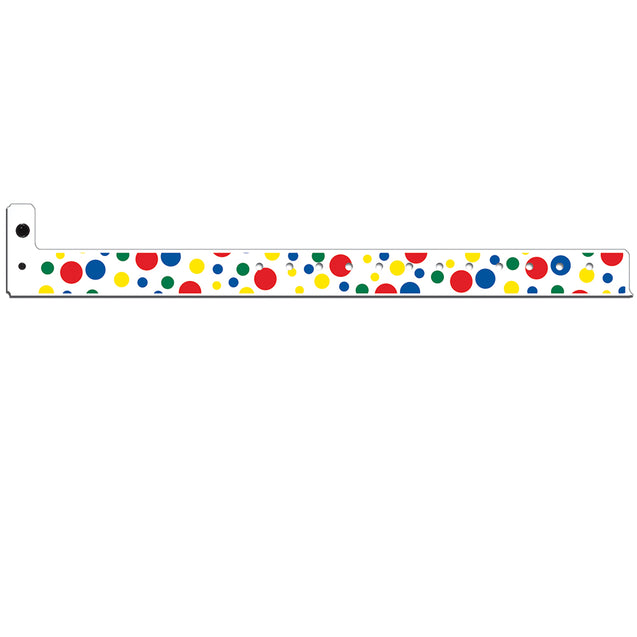 SuperBand® Expressions POLKA DOTS 4061-11 - 500/pack