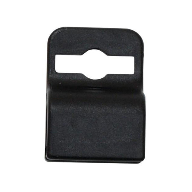 Badge Attachment, Gripper 30 Card Clamp , Slot Free Badge Holder, Holds one 30mil card, molded plastic outer piece with a silicone inner core - 100/pack