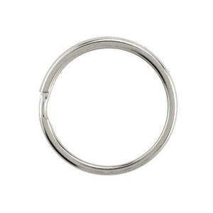 "Attachment, Split Ring 1"" (25mm), Non Heat-Treated Steel Split Rings with Round Edge, Dia 1"" (25mm) - Color NPS - 1000/pack"