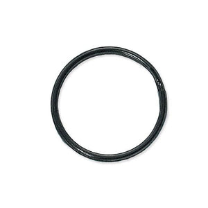 "Attachment, Split Ring 1 1/8"" (28mm), Heat-Treated Steel Split Rings, Dia 1 1/8"" (28mm), - Color Black Oxide - 1000/pack"