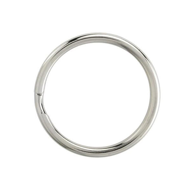 "Attachment, Split Ring 1 1/16"" (28mm), Non Heat-Treated Steel Split Rings with Round Edge, Dia 1 1/16"" (28mm), - Color NPS - 500/pack"