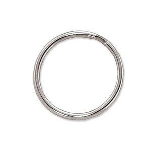 "Attachment, Split Ring 1 3/16"" (30mm), Heat-Treated Steel Split Rings, Dia 1 3/16"" (30mm), - Color NPS - 500/pack"