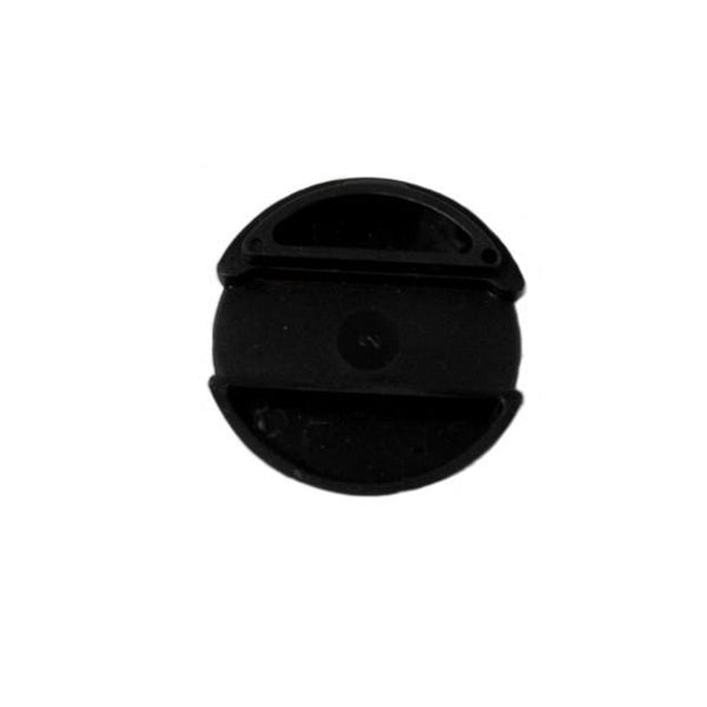 "Attachment, Lanyard Slider 3/4"" (19mm), Round Slider, Slider dia 3/4"" 19 mm ; For Round Strap or Optibraid Round Strap, - Color Black - 1000/pack"