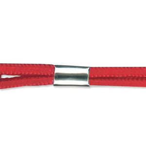 "Attachment, Lanyard Finishing Attachment , NPS Crimp, For lanyard 1/8"" (3mm) and 3/8"" (10mm), - Color NPS - 500/pack"