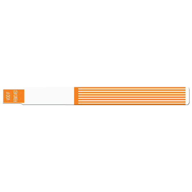 "ScanBand® S Striped S Striped 1-1/8"" PDC Black mark 7144SL - 500/pack"