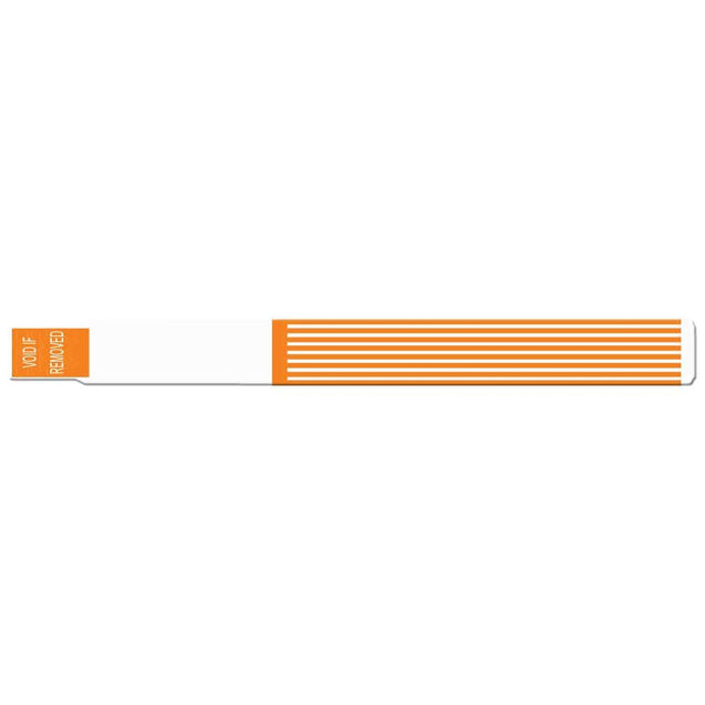 "ScanBand® S Striped S Striped 1-1/8"" Black mark at perf 7145SL - 400/pack"