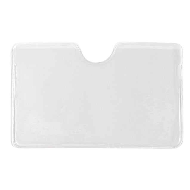 Adhesive Card Pocket w/thumbnotch - 150/pack