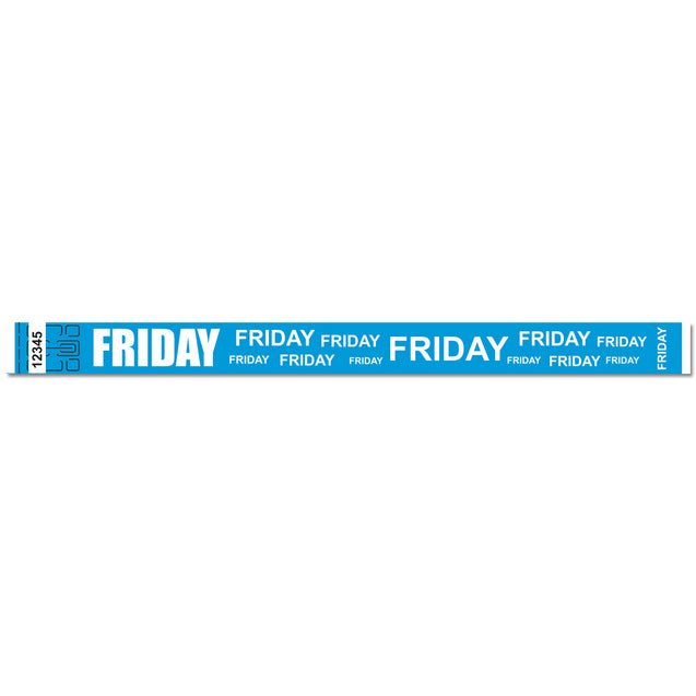 "Expressions® 3/4"" - Admissions FRIDAY NTX111 - 500/pack"