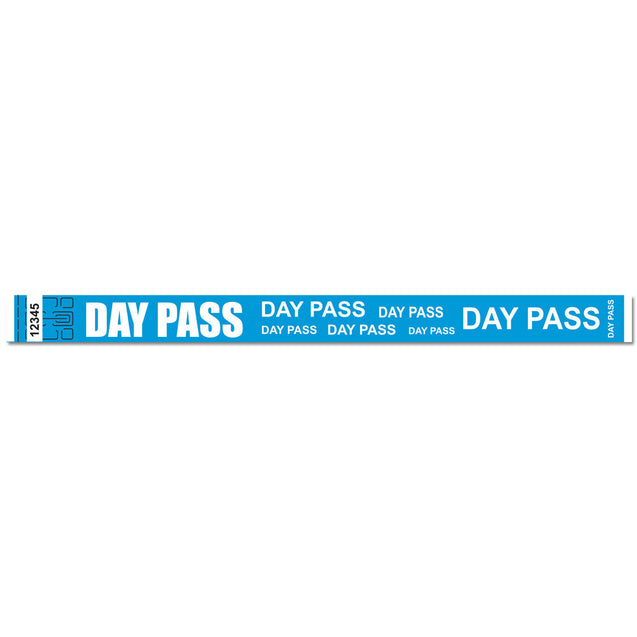 "Expressions® 3/4"" - Admissions DAY PASS NTX114-13 - 500/pack"