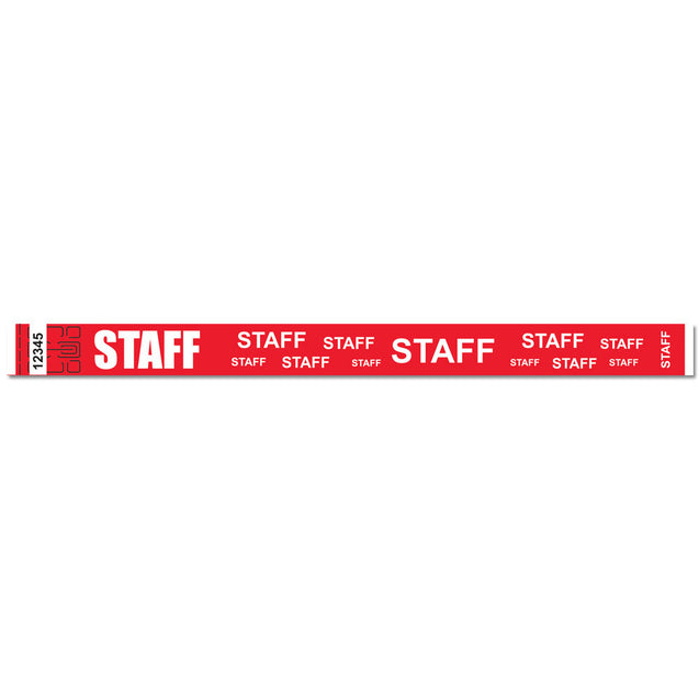 "Expressions® 3/4"" - Admissions STAFF NTX116-16 - 500/pack"