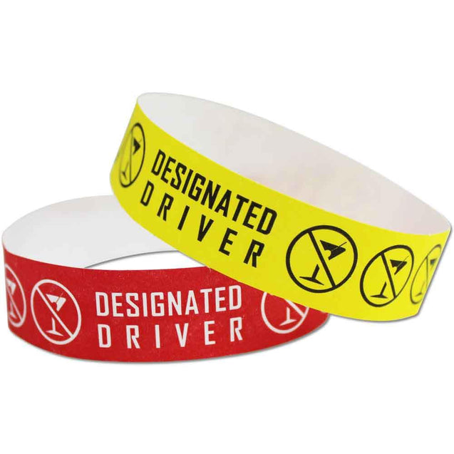 "Expressions® 3/4"" - Abstract Designs DESIGNATED DRIVER (NEW) NTX120 - 500/pack"