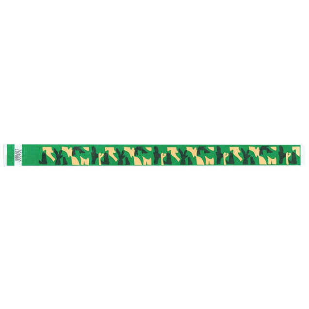 "Expressions® 3/4"" - Abstract Designs CAMOUFLAGE NTX66-22 - 500/pack"