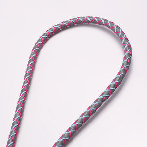 Round Cord with Reflective Line Lanyard R1901