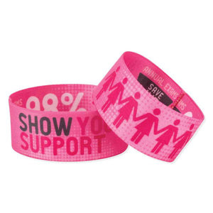 "Stretch Wristbands Stretch Wristbands 1"" - Child SWOVC- 50/pack"