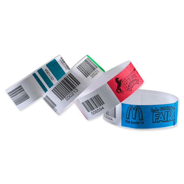"TicketBand® TicketBand (10"" L) TTX - 1000/pack"
