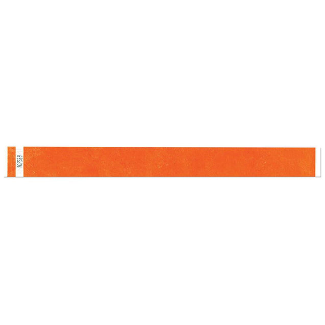 "Tytan Band® 1"" Tyvek Wristbands TYS Adhesive Closure (500/Pack) - Wristbands.com"