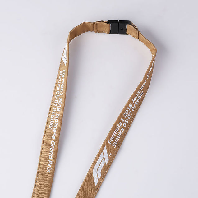 Tubular Lanyard with Metal Card Crimp W1901