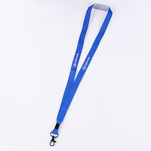 Two Color Weave Lanyard S1920