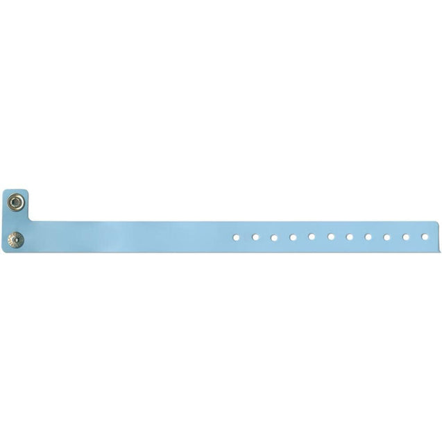 "Vinyl standard Vinyl Medium 3/4"" - locking metal snap closure VSM - 500/pack"
