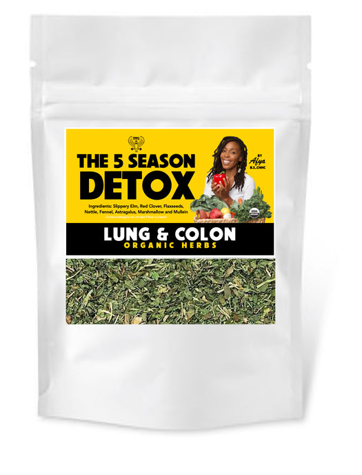 Lung and Colon Detox Herbs
