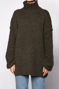 Pullover with Plait Pattern