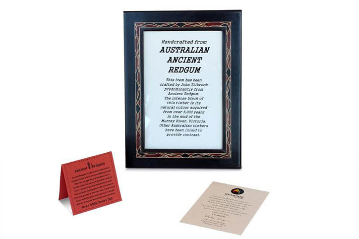 Ancient Redgum Inlaid Photo Frame