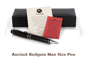 Ancient Redgum Man Size Pen